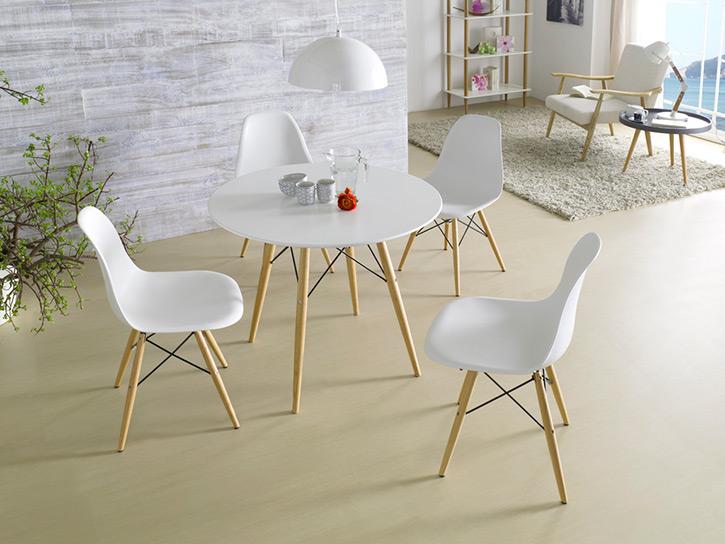Mesa comedor confort co for Mesa comedor redonda blanca